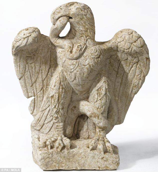 Description: C:\Users\Tunji Adeeko\Pictures\American Great Seal\Roman sculputure of eagle devouring serpent.jpg